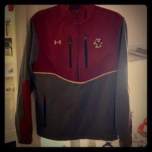 Boston College quarter zip up sweatshirt